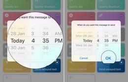 7 bước hẹn giờ gửi SMS tự động dành cho tín đồ iPhone