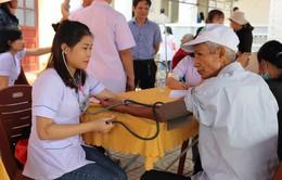 Hà Tĩnh: Hơn 500 người dân được khám sức khỏe, cấp thuốc miễn phí