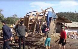 Lào Cai: Mưa lốc khiến 10 nhà sập đổ, 200 nhà hư hại