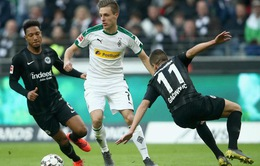 VIDEO Highlights: Frankfurt 1-1 Monchengladbach (Vòng 22 Bundesliga)