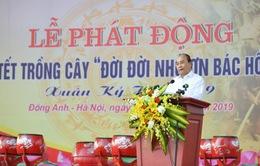 Thủ tướng mong mỗi gia đình ở Thủ đô trồng một cây, tạo nét đẹp mới của Hà thành