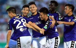 Đội hình ra sân CLB Hà Nội gặp CLB Sơn Đông Lỗ Năng: Quang Hải, Đoàn Văn Hậu, Duy Mạnh đá chính