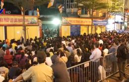 Hà Nội: Hàng nghìn người tham gia lễ cầu an chùa Phúc Khánh