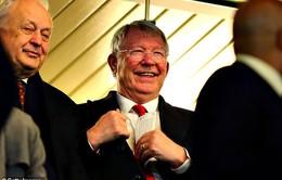 Sir Alex Ferguson hài lòng ra mặt với trò cũ ở Man Utd