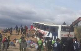 Tai nạn giao thông nghiêm trọng ở Bolivia, gần 40 người thương vong