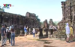 Khu đền tháp Mỹ Sơn thu hút du khách sau dịp Tết