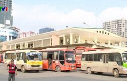 Nhiều bến xe ở Hà Nội vắng vẻ lạ thường dịp cận Tết