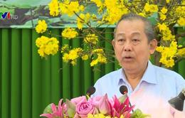 Phó Thủ tướng Trương Hòa Bình thăm, chúc Tết tại Đồng Tháp