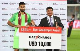Thủ môn Qatar lập kỷ lục mới ở Asian Cup