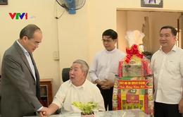 Bí thư Thành ủy TP.HCM thăm, chúc Tết các chức sắc tôn giáo