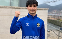Công Phượng ghi bàn ngay trong trận đầu tiên cho Incheon United