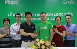 Sapo bắt tay tích hợp dịch vụ giao hàng nhanh GrabExpress