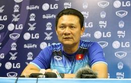 HLV Nguyễn Quốc Tuấn hài lòng về sự thể hiện của các cầu thủ U22 Việt Nam