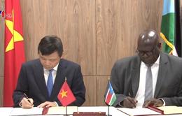 Việt Nam thiết lập quan hệ ngoại giao với Nam Sudan