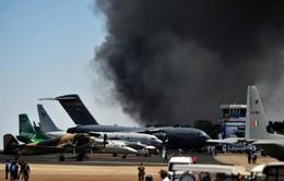 Cháy lớn tại triển lãm hàng không Ấn Độ