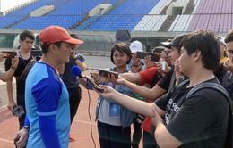 HLV Nguyễn Quốc Tuấn: U22 Việt Nam sẽ tập trung cao độ để giành chiến thắng ở bán kết