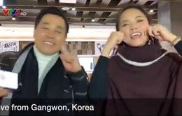 """MC Nguyên Khang, Thu Quỳnh múa hát """"3 con gấu"""" siêu đáng yêu bằng tiếng Hàn"""