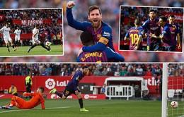Kết quả bóng đá châu Âu đêm 23/2: Messi chói sáng, Barca ngược dòng ngooạn mục