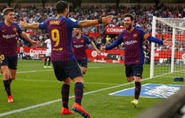Messi lập siêu kỷ lục, Barca ngược dòng ngoạn mục trước Sevilla