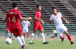 KẾT THÚC, U22 Việt Nam 0-1 U22 Indonesia: Thất bại đầy tiếc nuối!