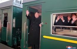 Chủ tịch Triều Tiên Kim Jong-un đang trên đường tới Việt Nam tham dự Hội nghị thượng đỉnh Mỹ - Triều
