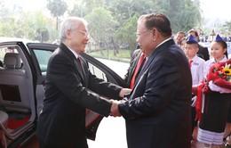 Tổng Bí thư, Chủ tịch nước Nguyễn Phú Trọng thăm hữu nghị chính thức Lào