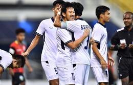 U22 Campuchia 0–0 (3-5 pen) U22 Thái Lan: Nhọc nhằn vượt qua U22 Campuchia, U22 Thái Lan gặp U22 Indonesia trong trận chung kết