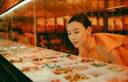 Trương Bá Chi đầy ngọt ngào với sắc cam