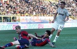 """C.Ronaldo chơi mờ nhạt, Juventus thắng nhờ tới """"cứu tinh"""" Dybala"""