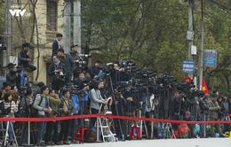 Phóng viên đã đợi Chủ tịch Kim Jong-un ở ga Đồng Đăng như thế nào?