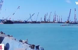 Bộ TN-MT kiểm tra vùng biển dự kiến nhận chìm vật chất nạo vét cảng Dung Quất