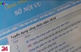 17 người trượt thành đỗ công chức sau chấm phúc khảo ở Lâm Đồng