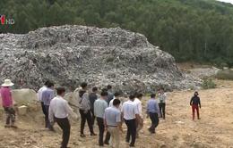 Bộ TN&MT kiểm tra điểm nóng về rác thải tại Quảng Ngãi