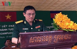 Khánh thành Tượng đài Hữu nghị Việt Nam - Campuchia tại tỉnh Kratie