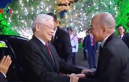 Quốc vương Campuchia mở Quốc yến chiêu đãi Tổng Bí thư, Chủ tịch nước Nguyễn Phú Trọng