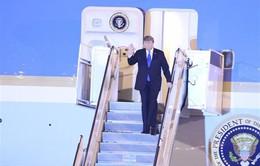 VIDEO Tổng thống Mỹ Donald Trump cảm động vì sự đón tiếp nồng nhiệt của người dân Việt Nam