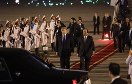 VIDEO Tổng thống Mỹ Donald Trump đến Việt Nam