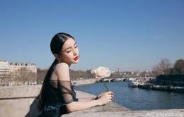 Angelababy như nàng thơ trên đất Pháp