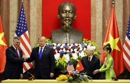 VIDEO Việt Nam và Mỹ ký kết thỏa thuận hợp tác kinh tế 21 tỷ USD