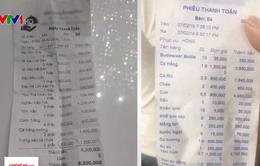 """Nhà hàng """"chặt chém"""" du khách ở Nha Trang bị phạt gần 30 triệu đồng"""