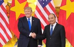 Thủ tướng Nguyễn Xuân Phúc hội kiến với Tổng thống Hoa Kỳ