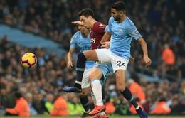 KẾT THÚC, Man City 1-0 West Ham: Chiến thắng nhọc nhằn