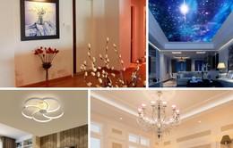 Cách chọn 4 loại đèn trang trí cho phòng khách ấn tượng