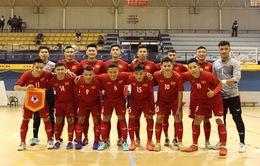 ĐT futsal Việt Nam cầm hòa CLB Real Betis