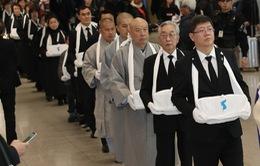 Hàn Quốc hồi hương trên 70 bộ hài cốt lao động cưỡng bức