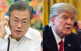 Hội nghị thượng đỉnh Mỹ - Triều lần 2: Tổng thống Trump điện đàm với Tổng thống Hàn Quốc về kết quả hội nghị