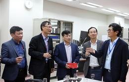 Tổng Giám đốc Trần Bình Minh chúc Tết các đơn vị VTV nhân dịp năm mới Kỷ Hợi 2019
