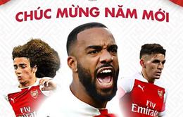 Man Utd, Arsenal, Dortmund cùng nhiều đội bóng lớn chúc Tết cổ động viên Việt Nam
