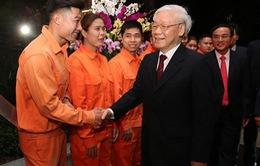 Tổng Bí thư, Chủ tịch nước Nguyễn Phú Trọng thăm và chúc Tết tại Hà Nội