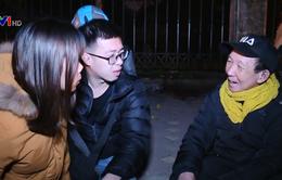 Trắng đêm mang Tết ấm đến người vô gia cư ở Hà Nội
